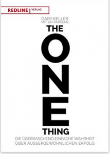 """Buch """"The ONE Thing"""""""